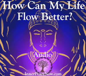 """""""How can I get out of feeling stuck and make my life flow more easily?"""" Response here..."""