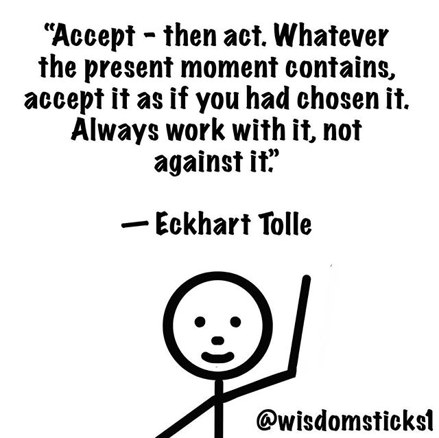 #wisdomsticks #presentmoment #presence #awareness #intelligence #consciousness #consciousliving #quotestoliveby #quoteoftheday #quotesaboutlife #quotes #quoteoftheweek #spiritualawakening #awakening #living #lifequotes #life #surrender #acceptance #flowstate #goodvibes #positivity #wisdom #bestquotes #eckharttolle #eckharttollewisdom #tollequotes #powerofnow