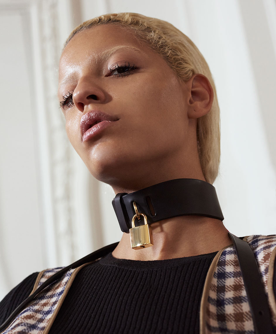 COLLABORATION / FLEET ILYA X AQUASCUTUM - LONDON FASHION WEEK - PADLOCK COLLAR