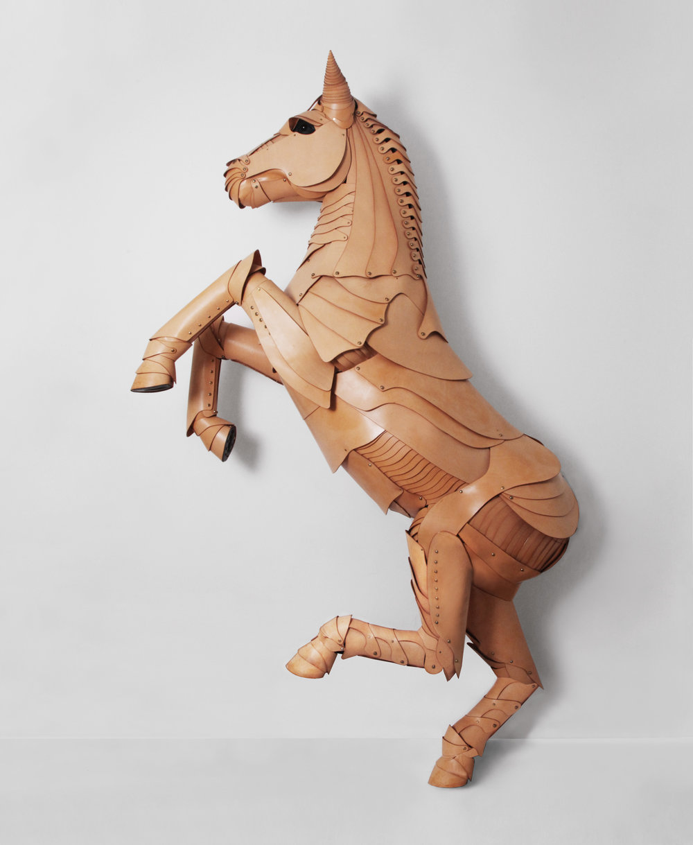 COLLABORATION / FLEET ILYA X DOVER STREET MARKET LONDON - LIFE SIZE HORSE SCULPTURE