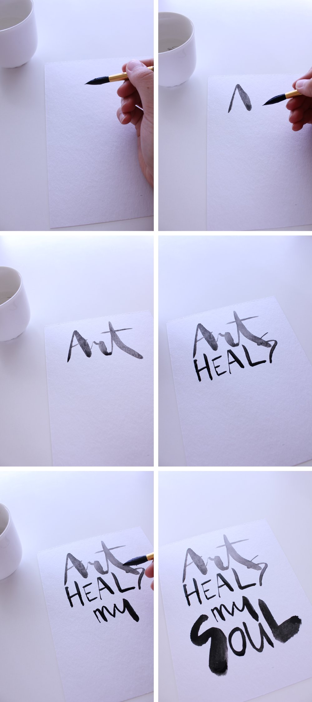 calligraphy illustration