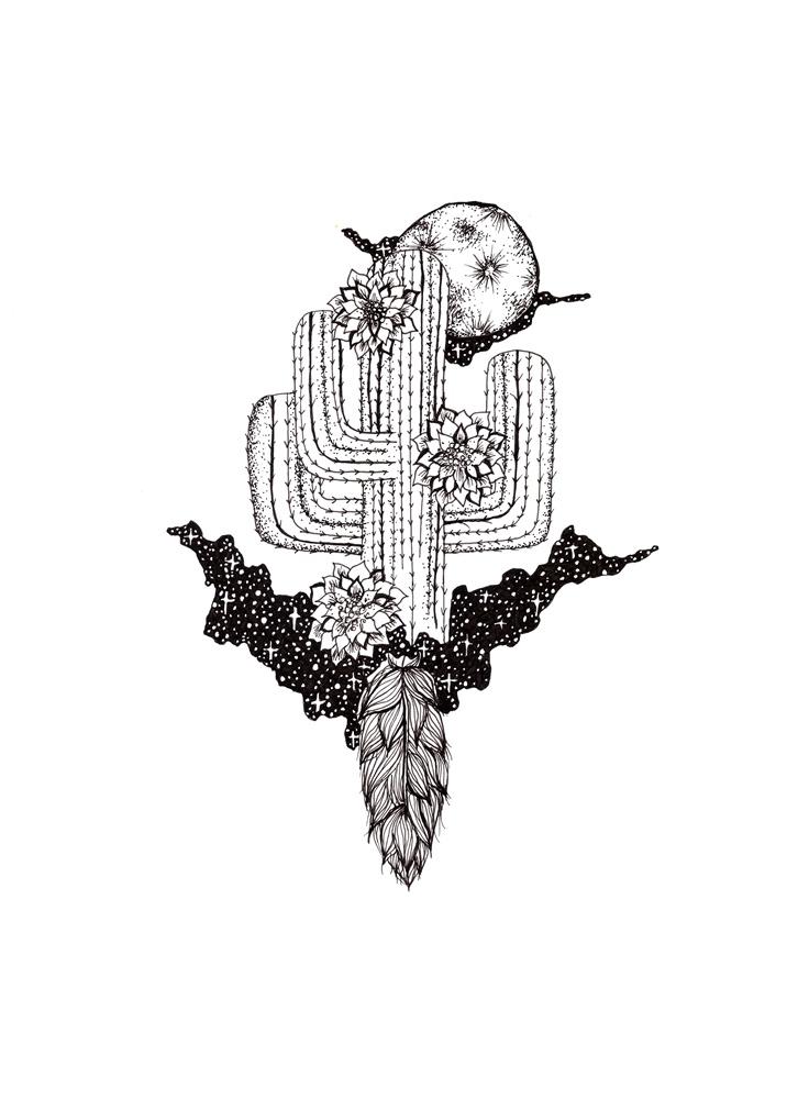 Galaxy cactus