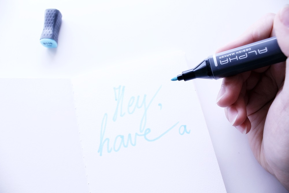 ALPHA design markers review. New art supplies, professional markers for sketching, coloring, drawing.