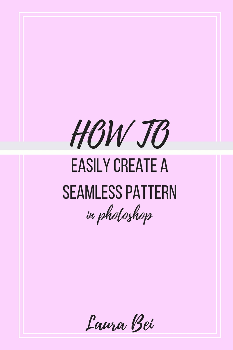 Learn photoshop series - how to easily create a seamless pattern.jpg