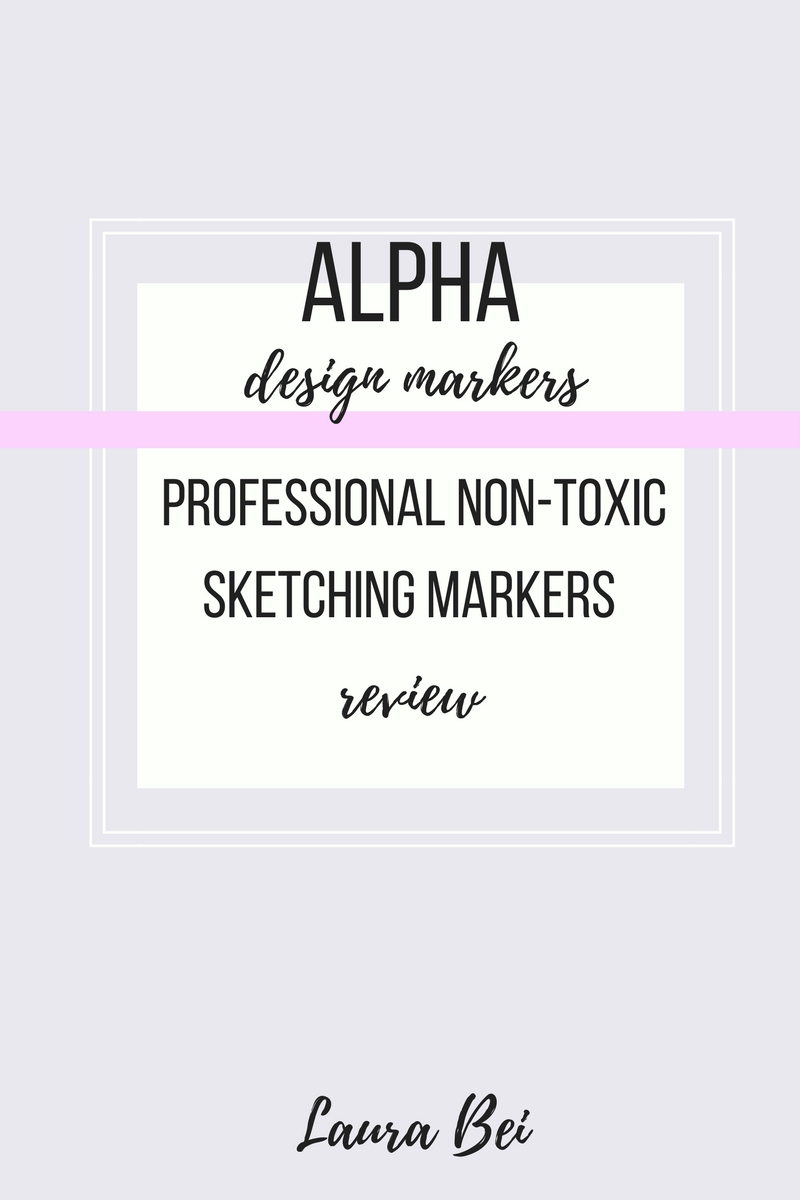 Professional Alpha design markers for sketching, coloring and drawing. Review and honest opinion.