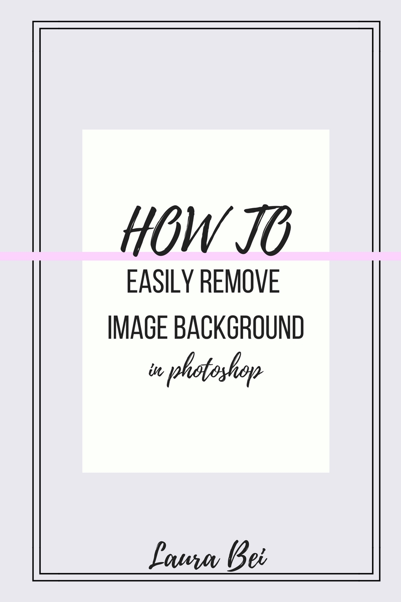 Learn photoshop series. How to remove image background. Quick and easy step by step tutorial!
