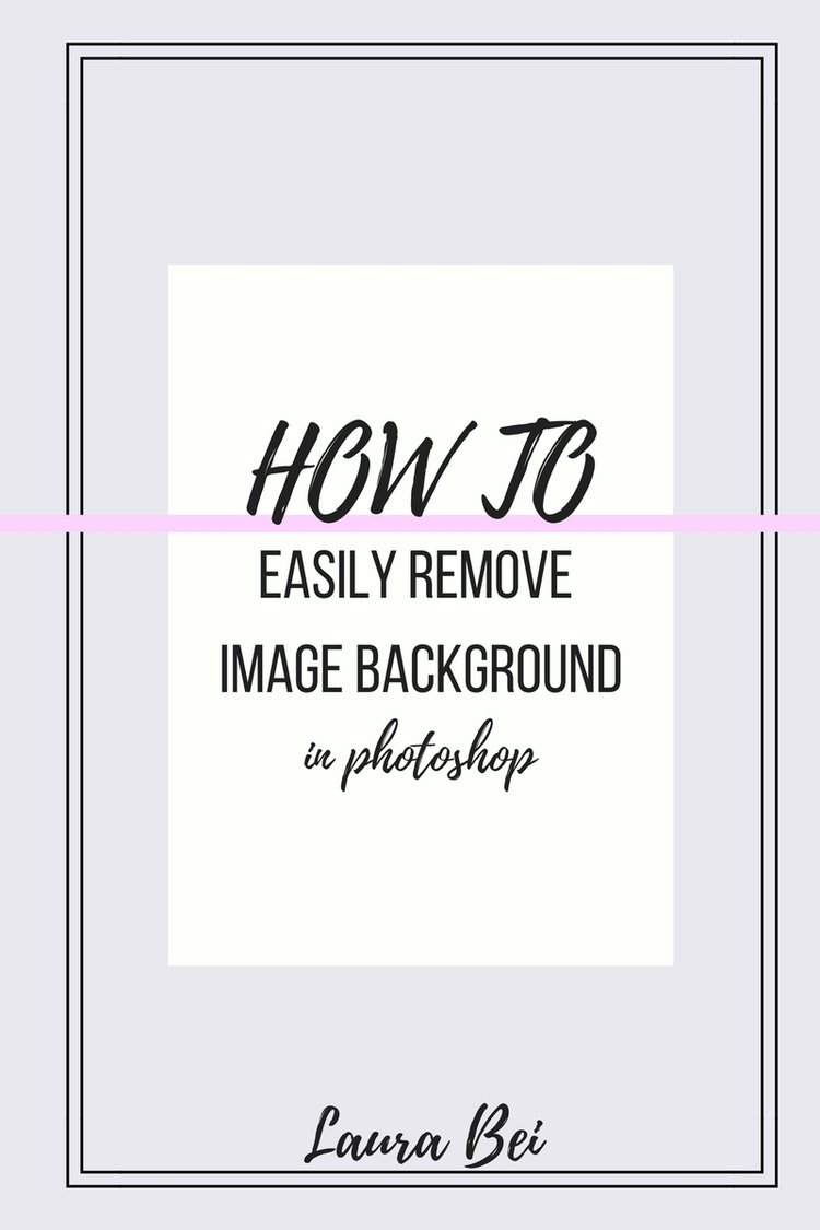 Learn photoshop series how to remove image background tutorial learn photoshop series how to remove image background quick and easy step by step baditri Images