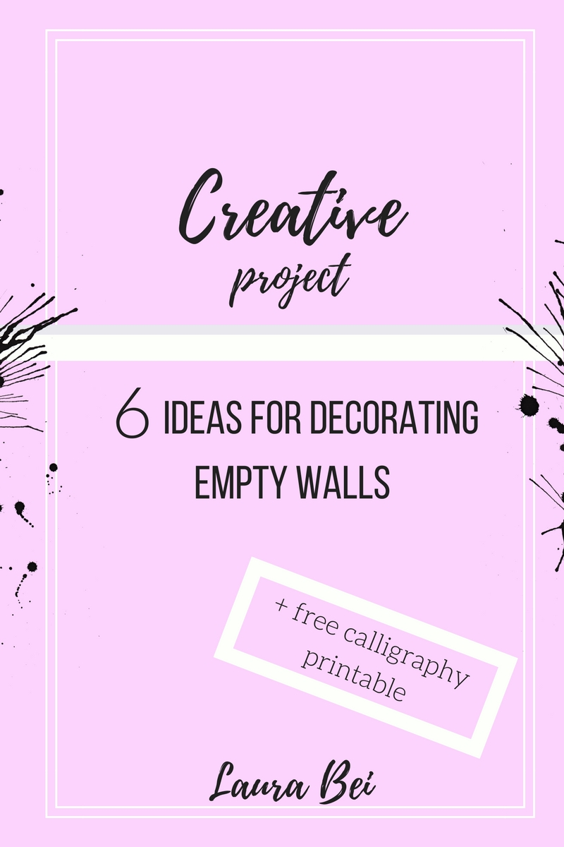 6 ways to decorate your home walls. Ideas, tips and tricks!