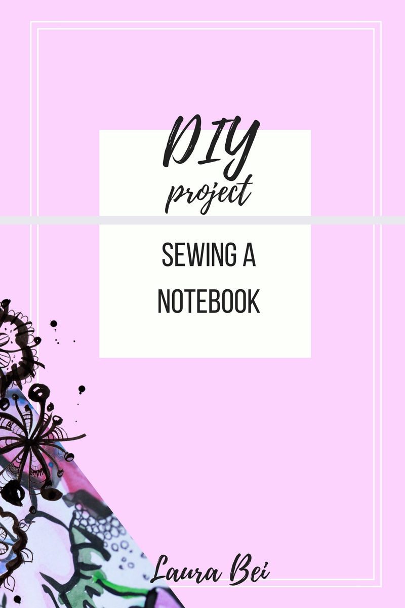 Sew yourself a new notebook or make a gift for a friend. Easy to follow DIY tutorial.