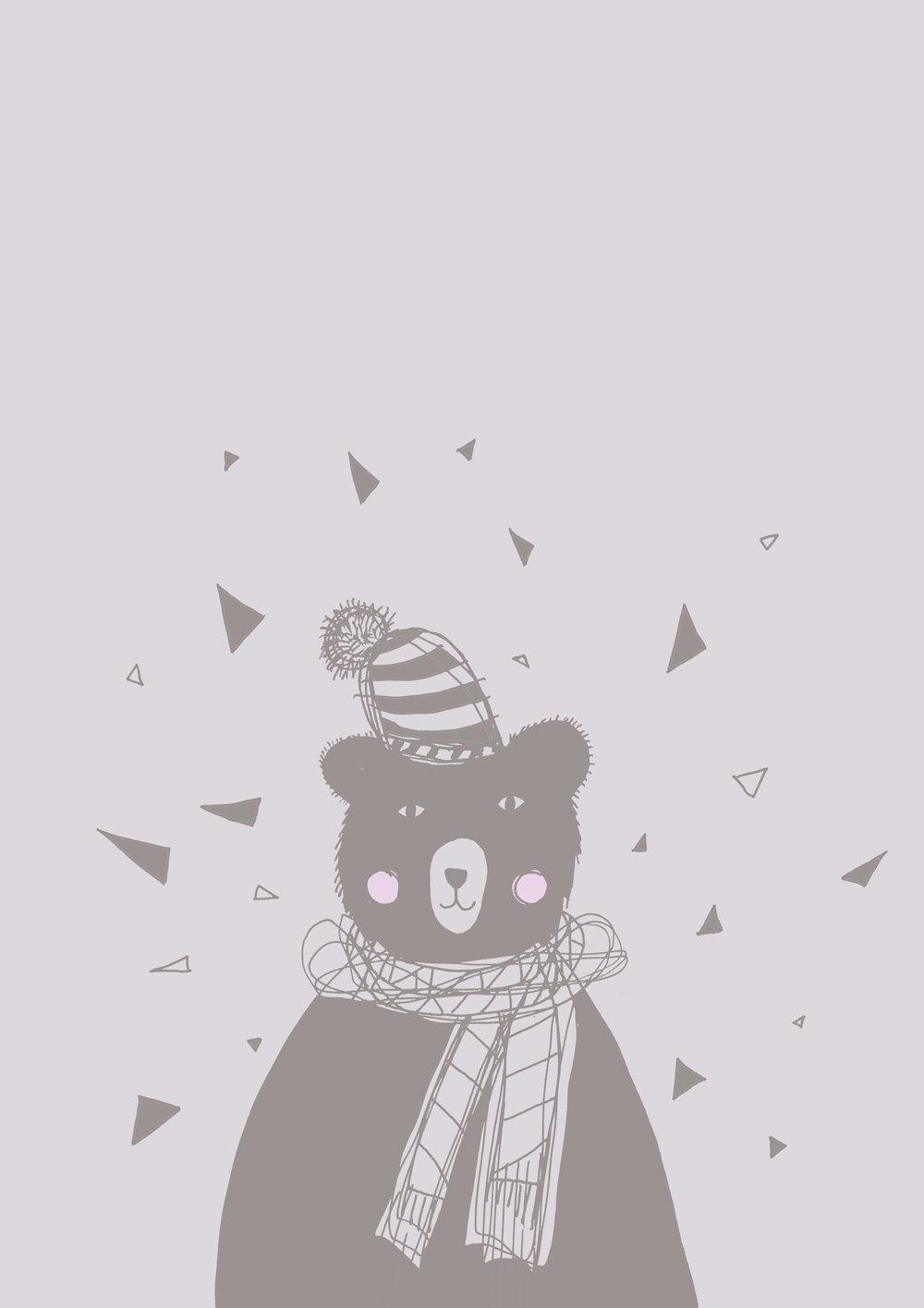 Cold bear free wallpaper download