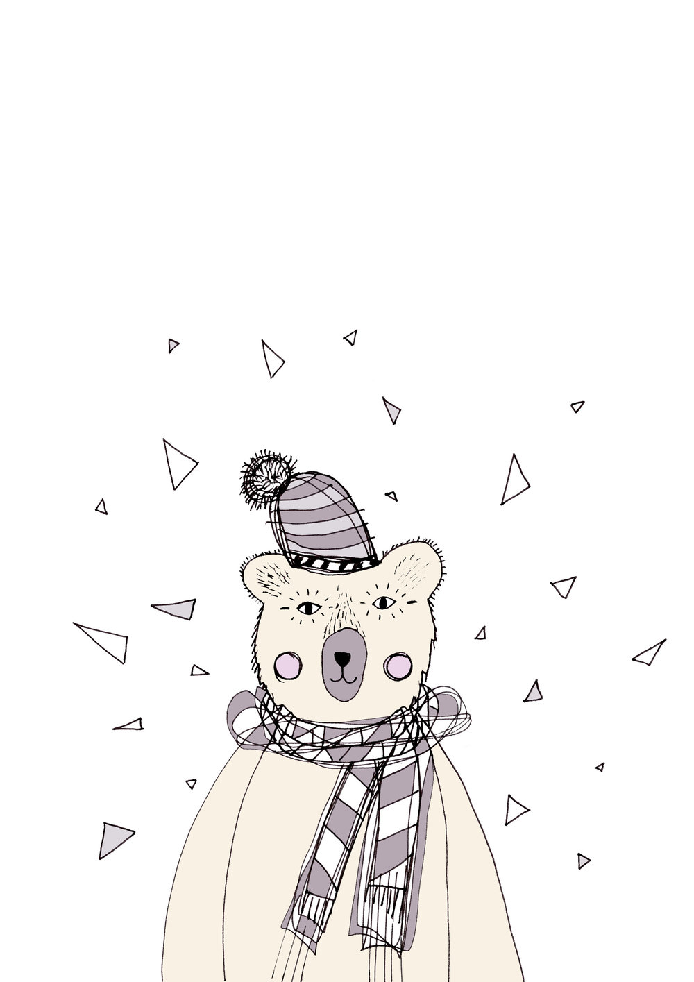 Cold bear free wallpaper download by Laura Bei