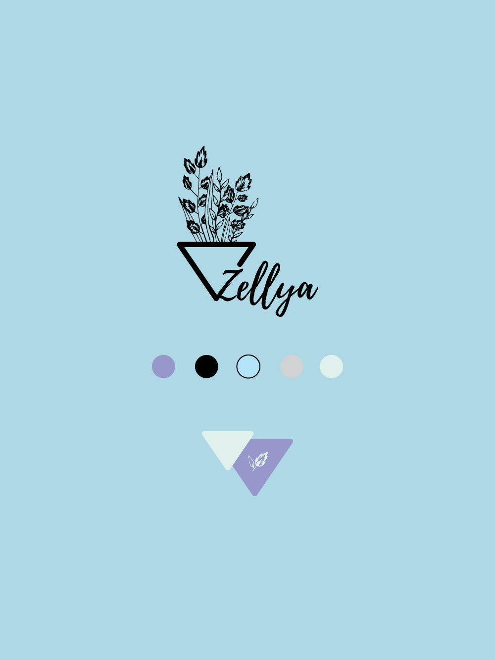 Branding project for an embroidery business named    Zellya Designs   .   Delicate & sophisticated craft requires branded visuals that support its values and creates true connection with the right tribe.    WORK DONE:  Logo | Alternatives | Color palette | Patterns for Social Media