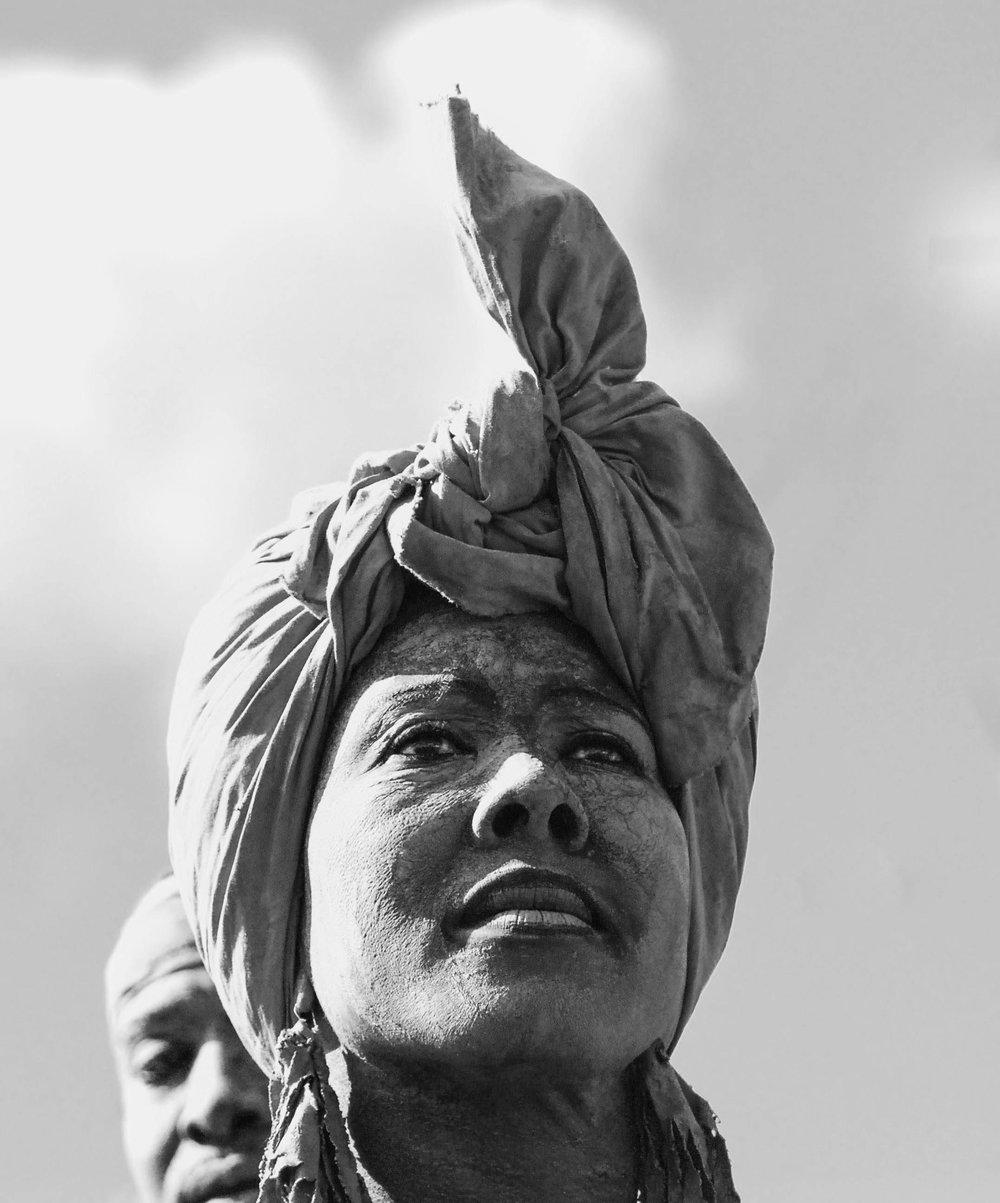La femme créole / Portrait
