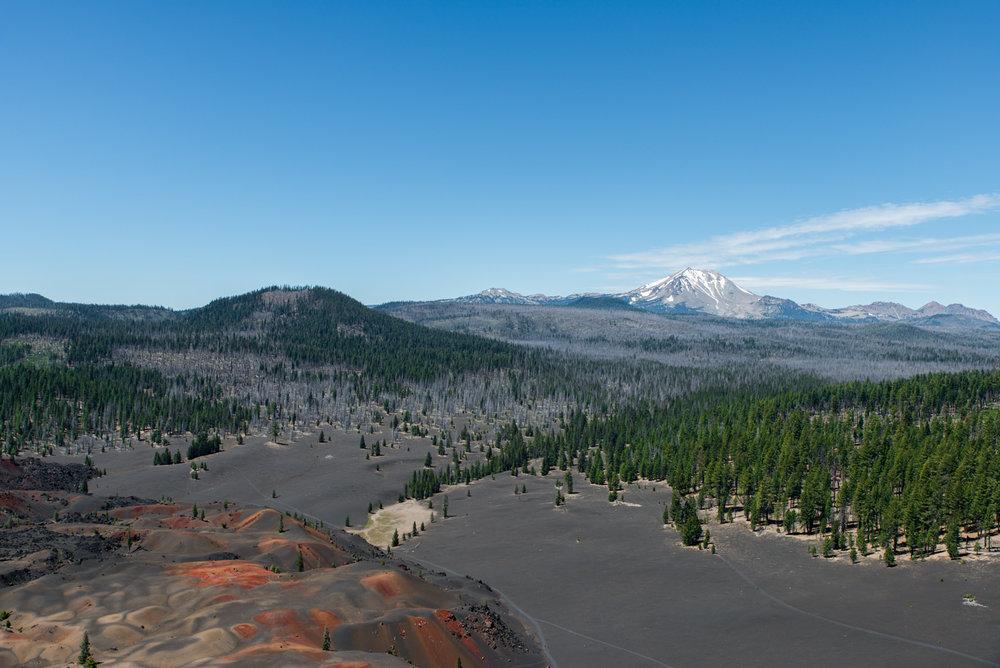 Cinder Cone / lassen National Park
