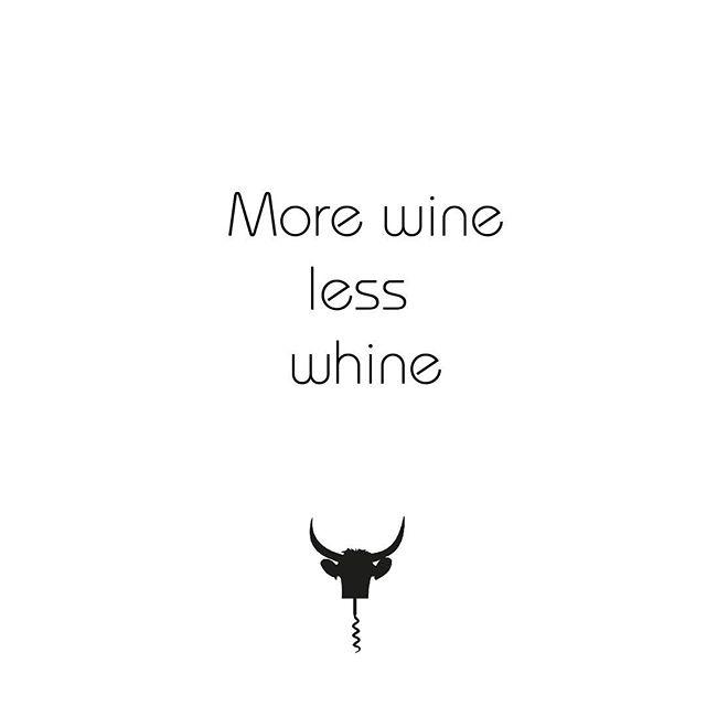 Sunday = more wine, less complaint 🍷👌🏼😁 #torolocowine #toroloco . . . . . . . #doutielrequena #quote #winequote #vinho #wein #vino #spanishwine #quoteoftheday #drinkstagram #instadrink #instawine #instawines