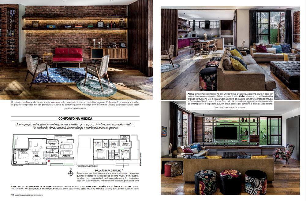 Revista Arquitetura e Constru��o COM AMOR Adriano Escanhuela Fotografias
