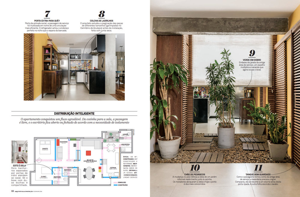 Revista Arquitetura e Constru��o IDENTIDADE RENOVADA Adriano Escanhuela Fotografias