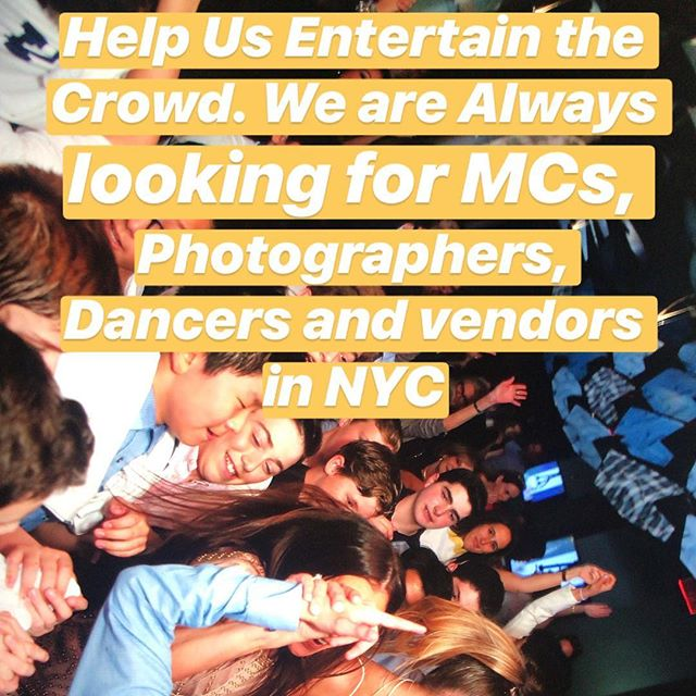 PSP is Growing 🙌🏾Help us entertain the crowd. We are always looking for MCs, photographers, event techs, dancers and vendors in NYC area. Follow us or email your rates/resume to bookings@pristinesoundproductions.com #smallbusiness #eventindustry #nycbusiness #eventprofs #eventpros #eventlife #partywithpsp
