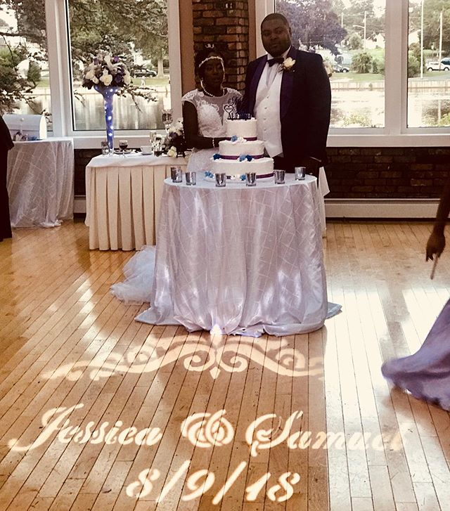 Congrats to Jessica and Samuel beautiful wedding Inside @coralhouse Dj @tonibeatz on the set with Special effects & lights by @pristinesoundproductions