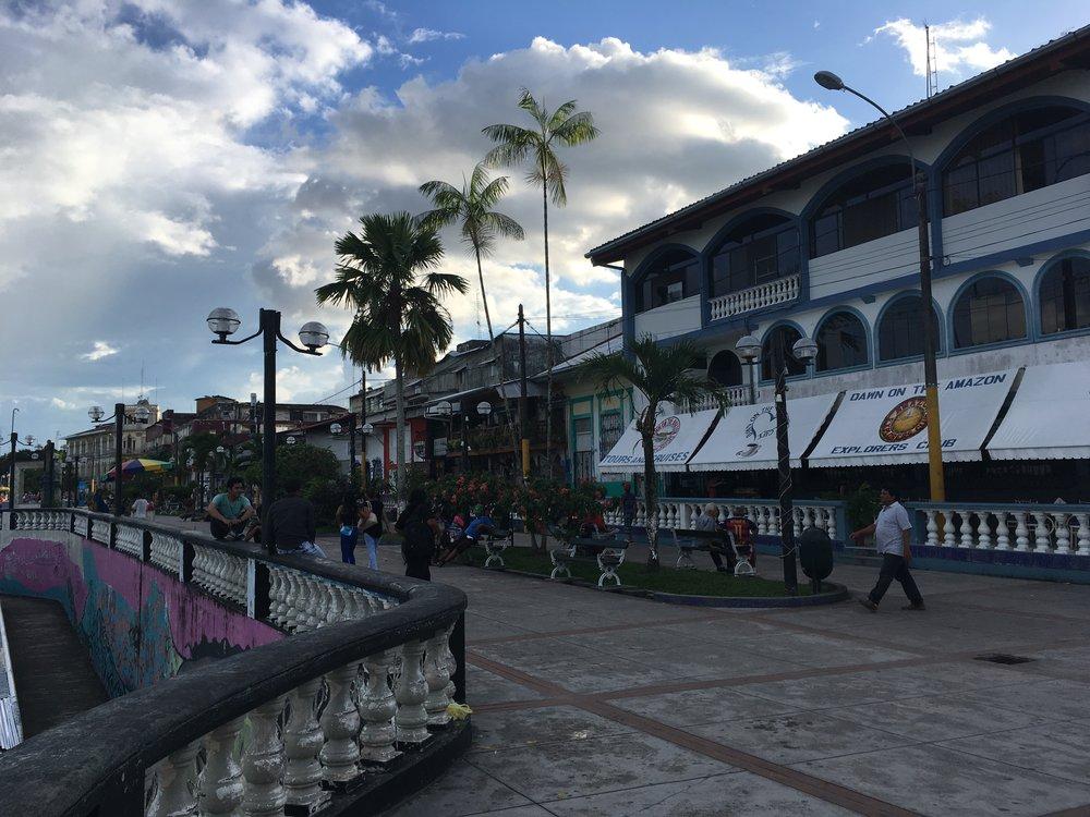 Набережная в Икитосе