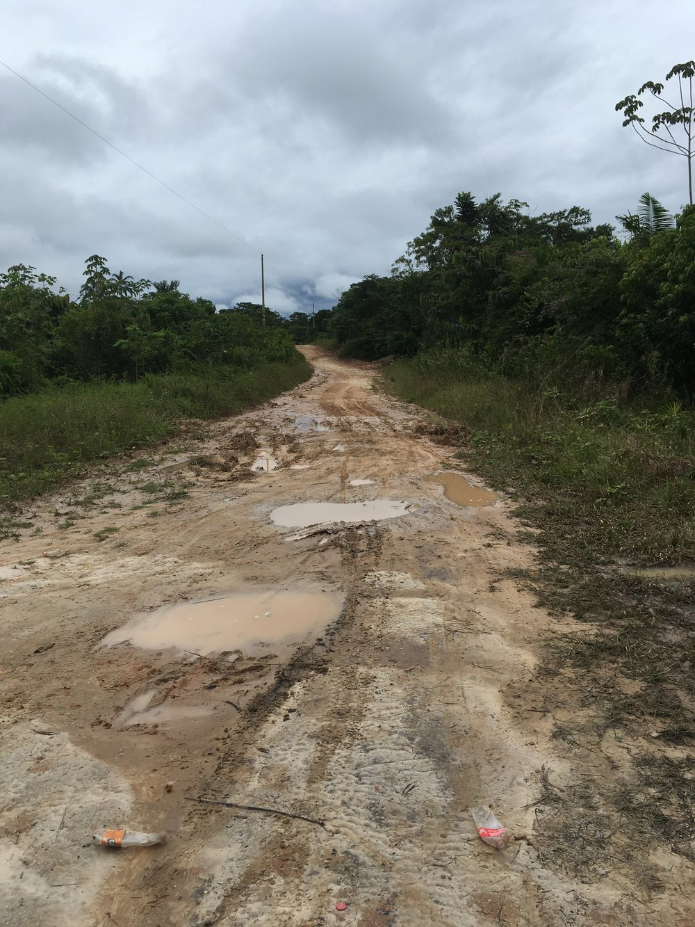 Дорога из Икитоса в ретрит
