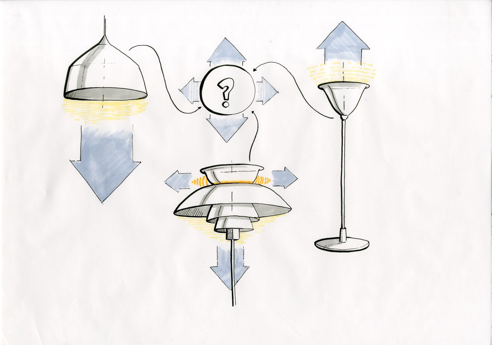 First ideas of conventional lamp zones