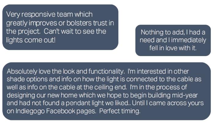 feedback typeform shade orb