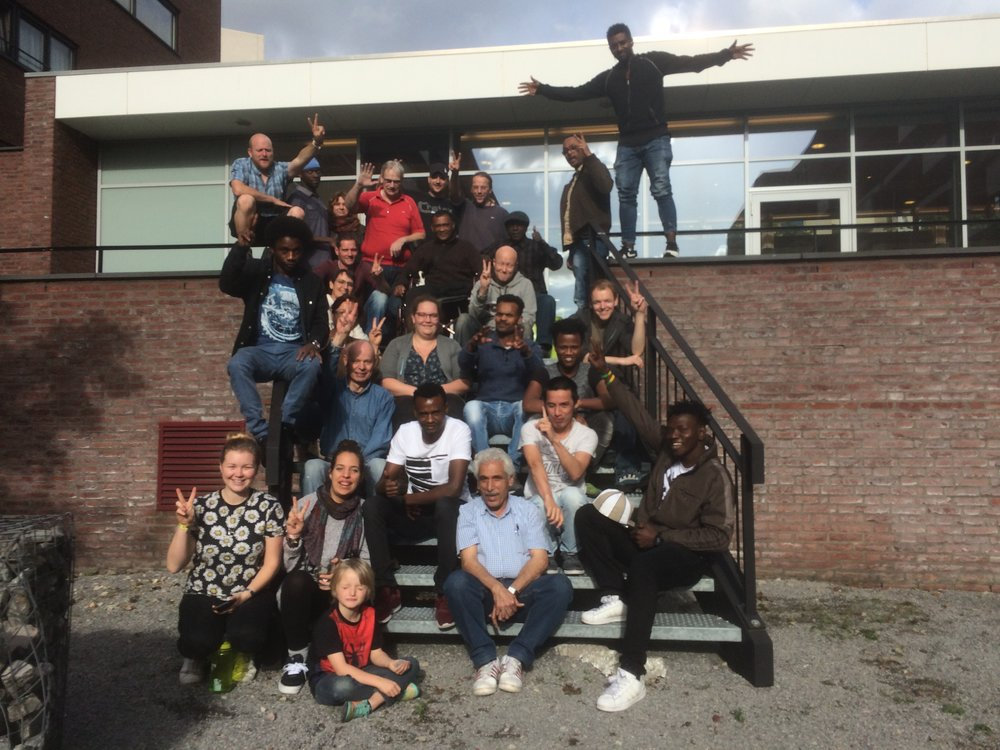 Solidarity with Huiskamer, Dutch Design Week -October, 2017