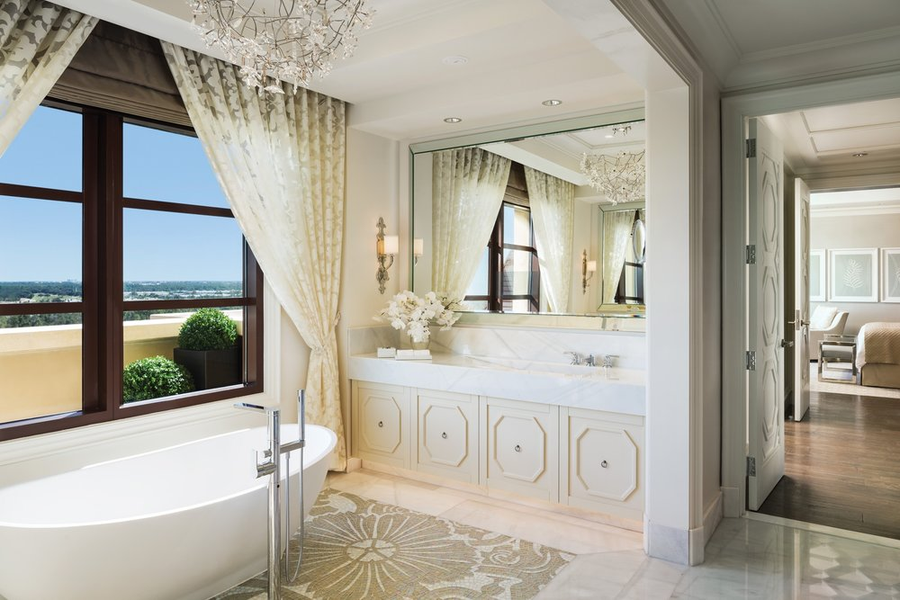 Four Seasons Orlando Presidential Suite Bathroom