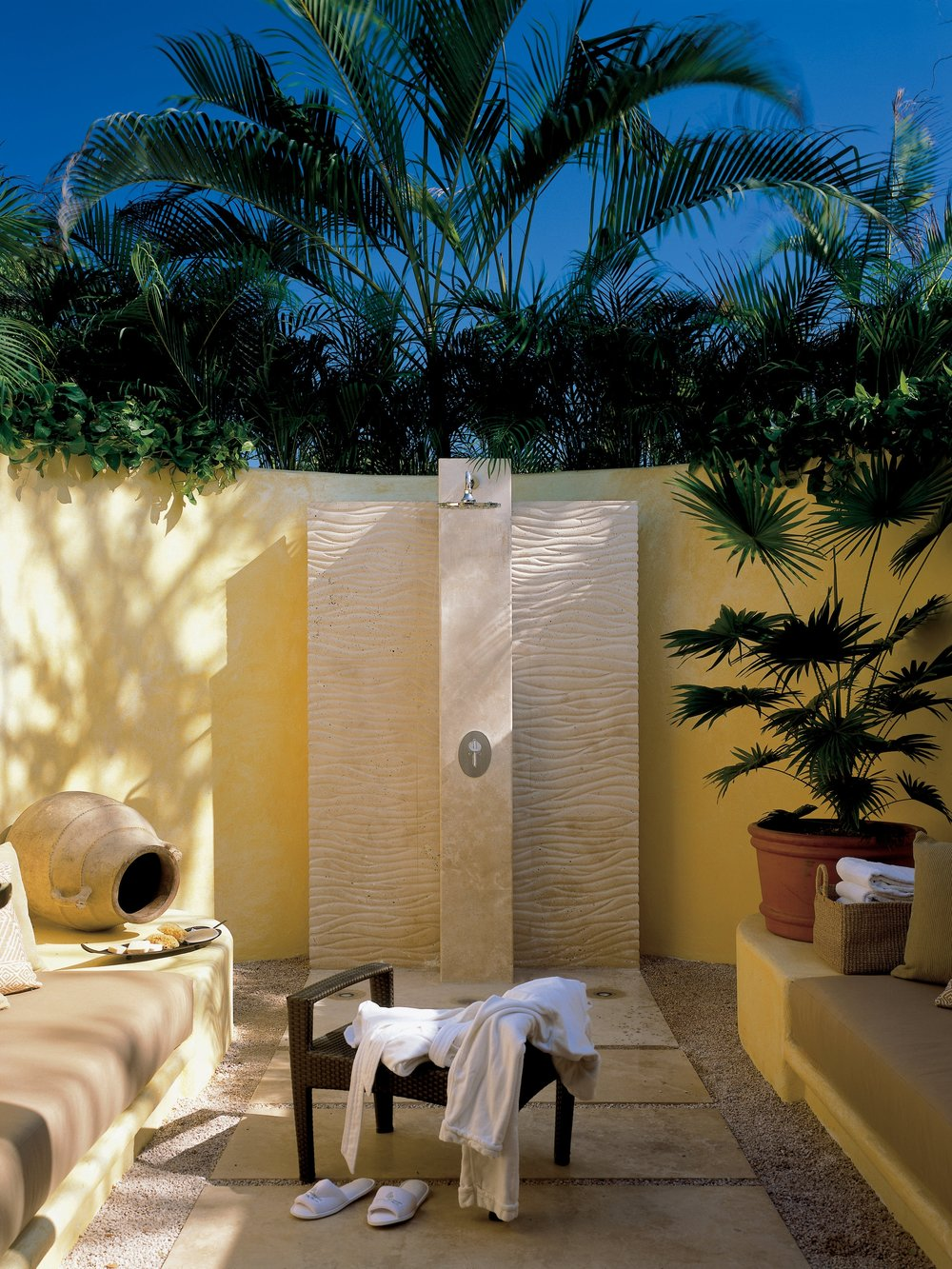 Four Seasons Punta Mita Outdoor Shower