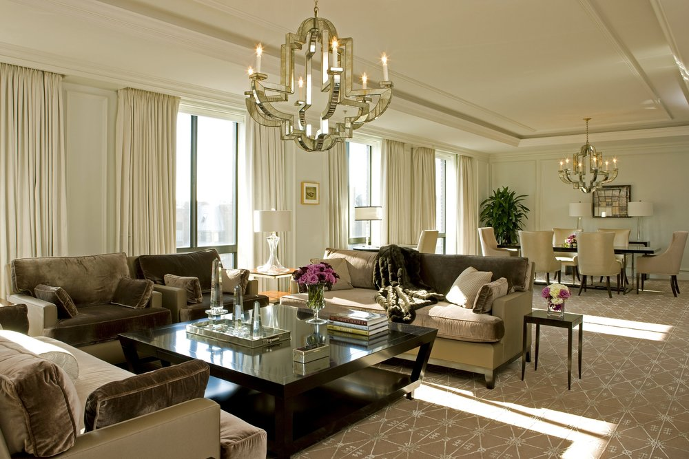 Four Seasons Washington D.C. Living Room