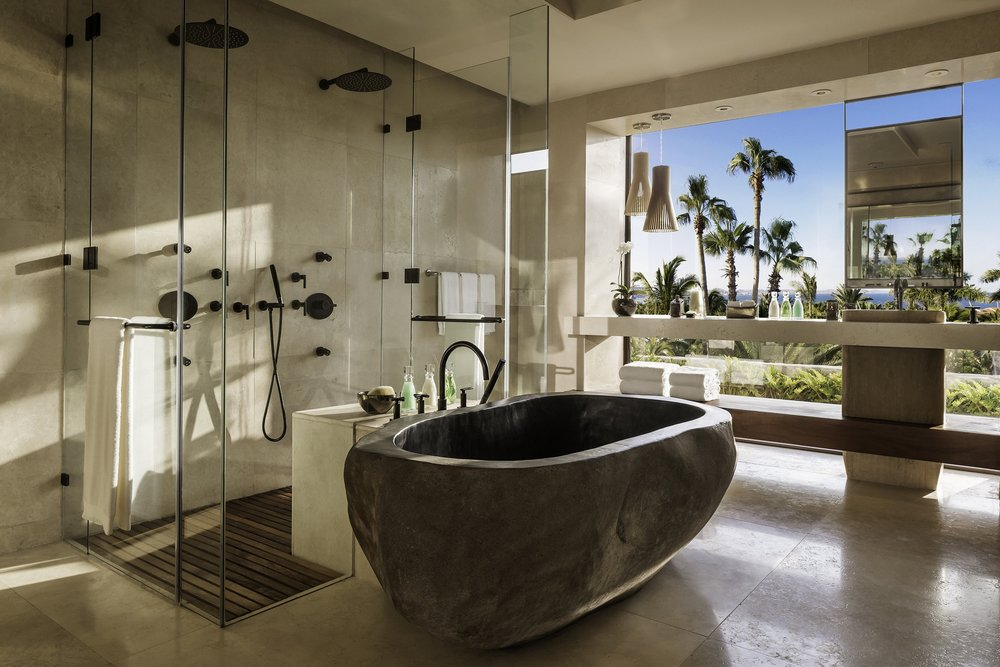 Villa One Master Bathroom
