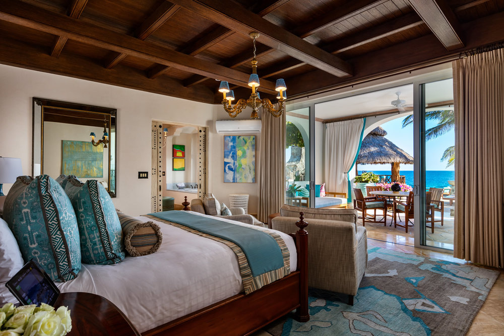 One&Only Palmilla Villa Cortez Master Bedroom