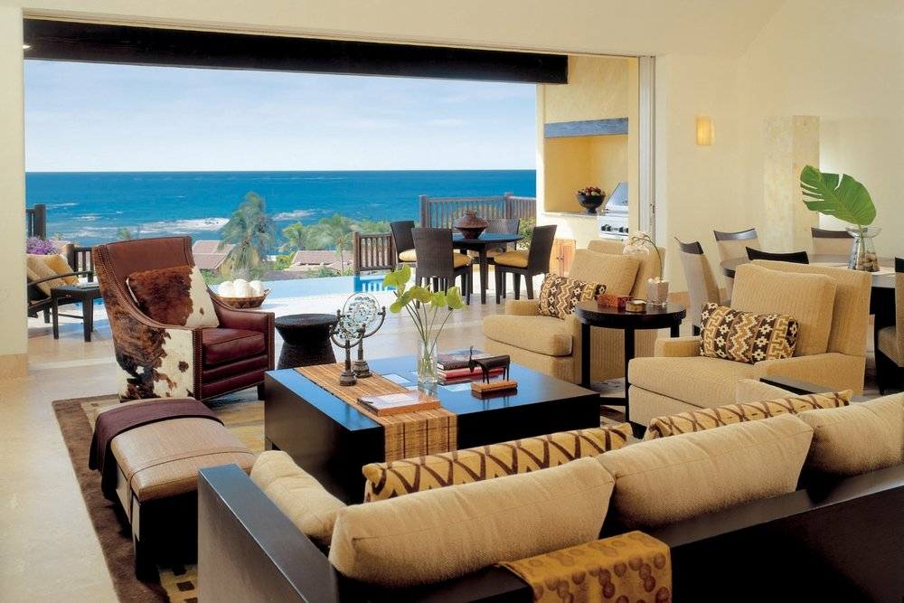 Four Seasons Punta Mita Living Room