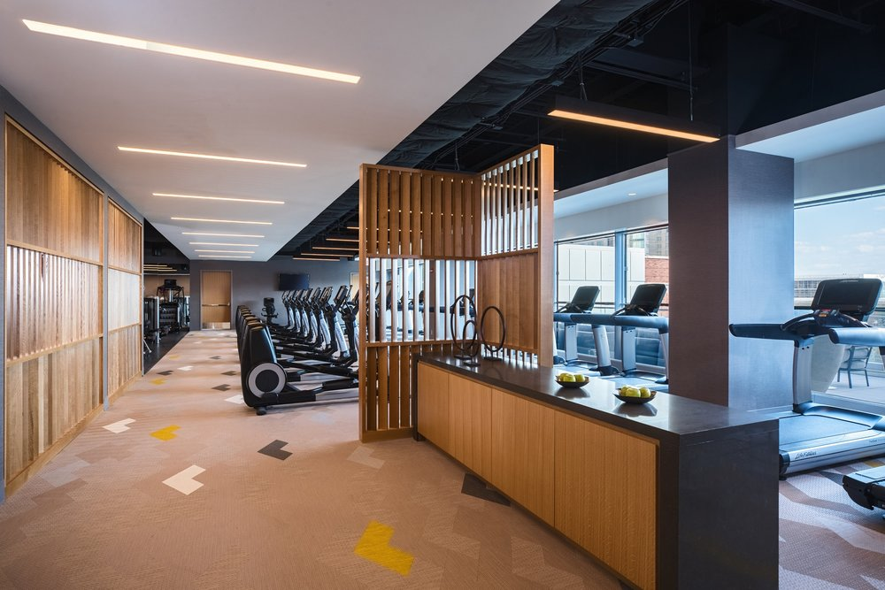 Marriott Marquis Chicago Fitness Center