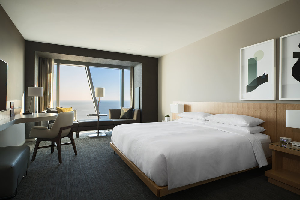 Marriott Marquis Chicago King Guestroom