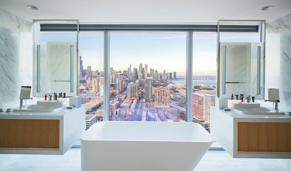 Marriott Marquis Chicago Presidential Suite