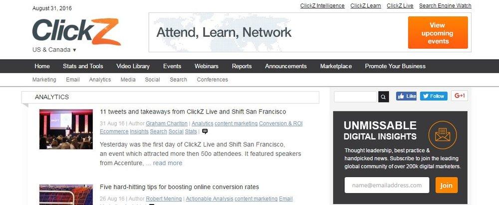 ClickZ Analytics Blog