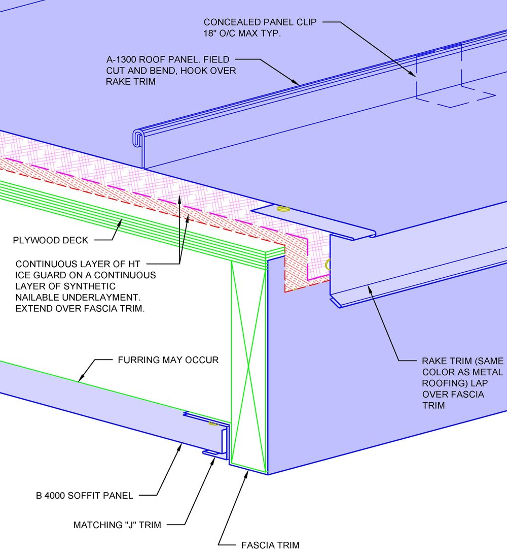 Series 1300 Standing Seam Roofing Courtad Dalton
