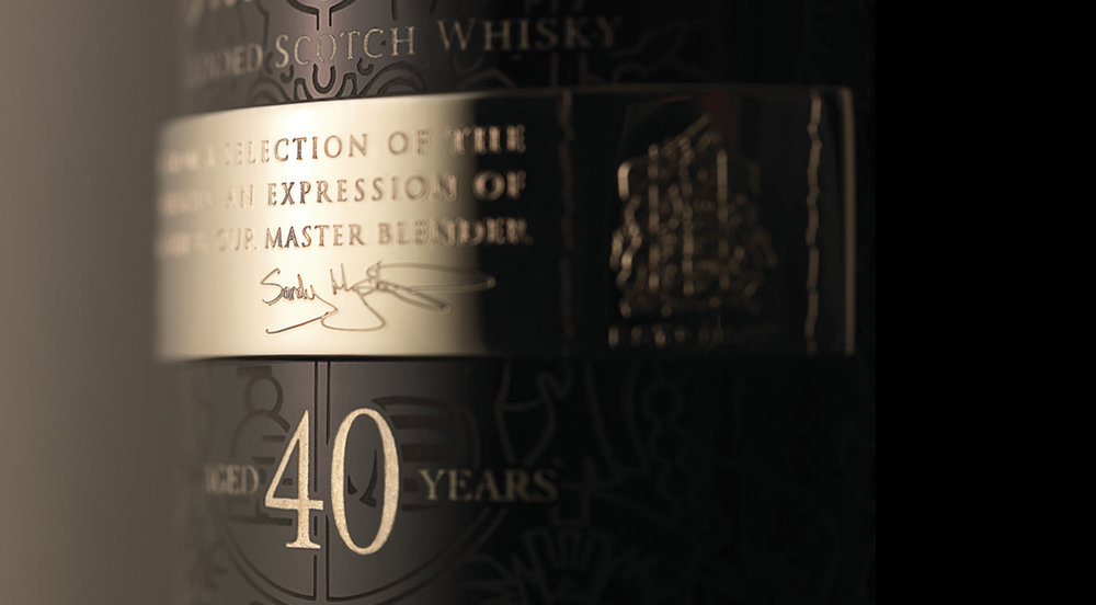 Ballantine's Aged 40 years limited edition