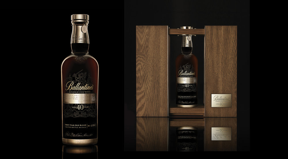 ballantine's 40 year old limited release.