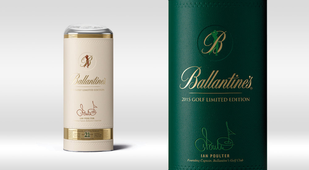 Ballantine's Golf 2015 Limited Edition