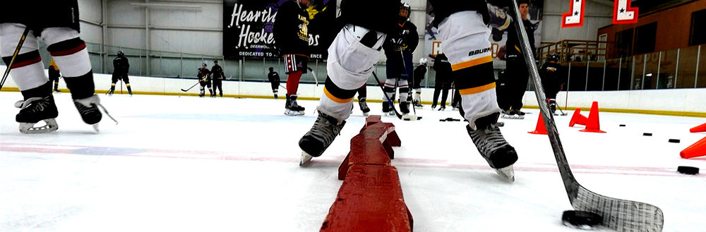 Adult camp hockey