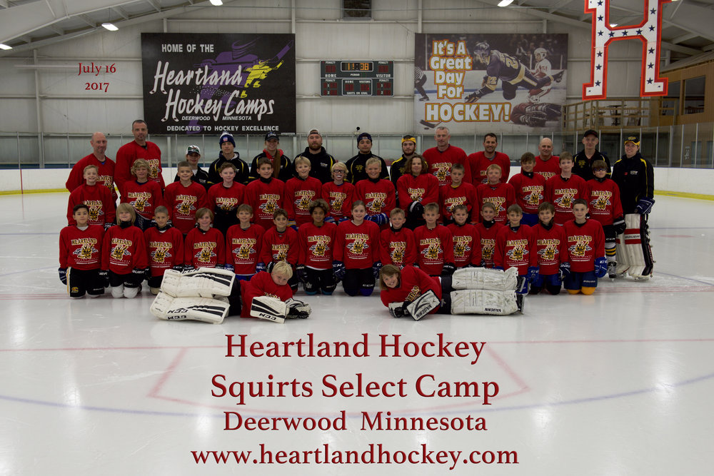 Squirt Select July 16-22, 2017