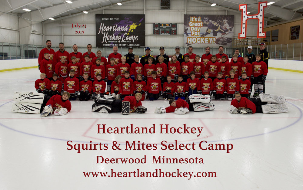 Mites & Squirts Select July 23-29, 2017