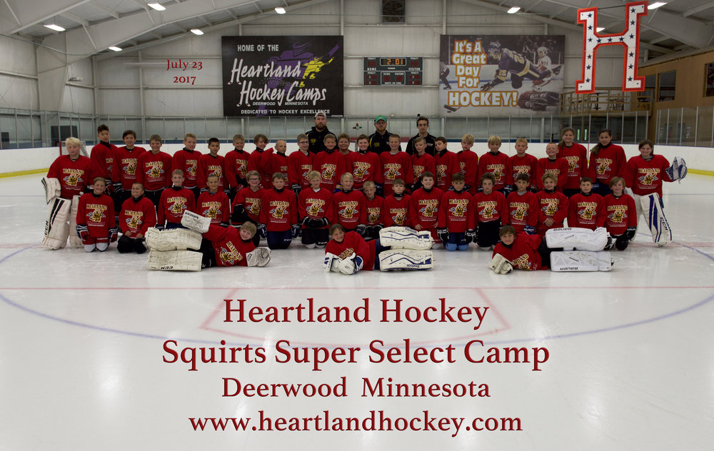 Squirts Super Select July 23-29, 2017