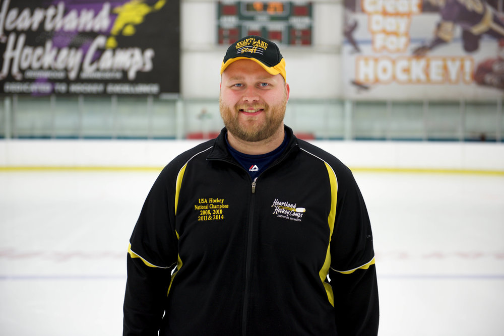 Joe Herda Goalie Coach/Assistant Arena Manager
