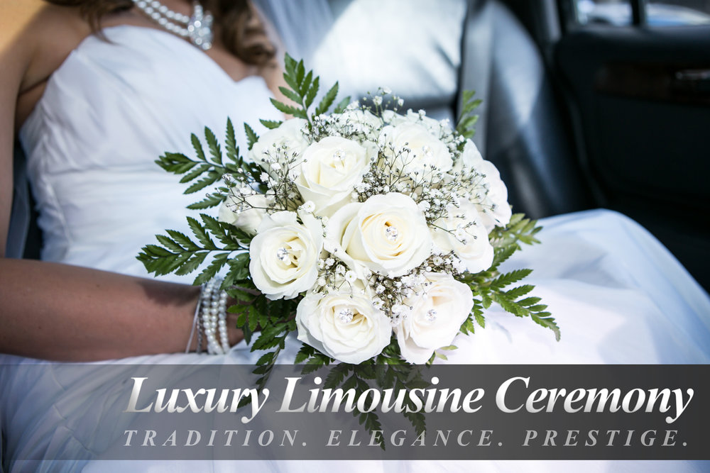 Luxury Limousine Wedding Ceremony -
