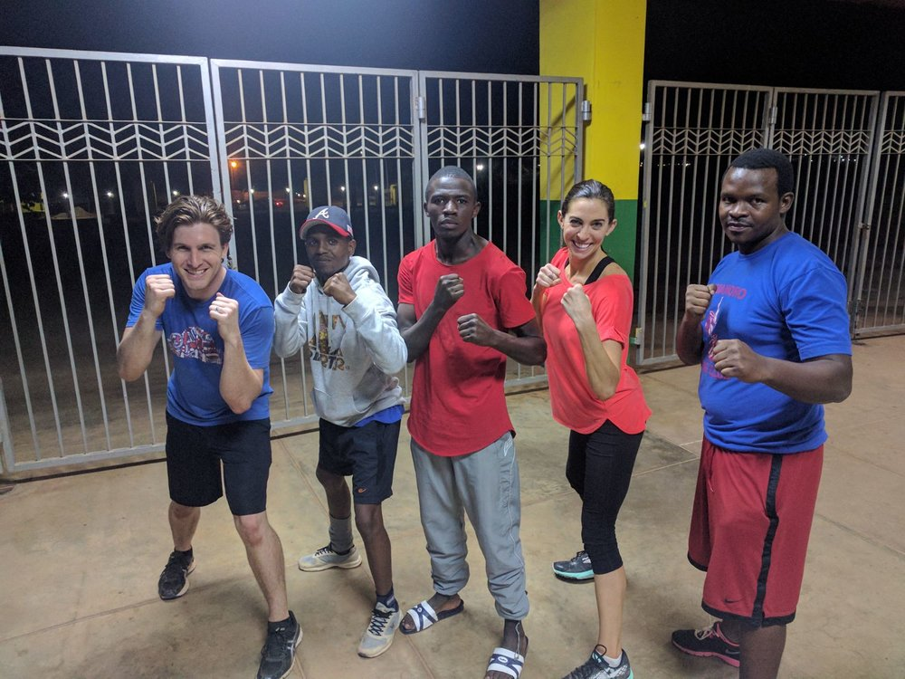 Photo Credit: Amahoro Boxing Club
