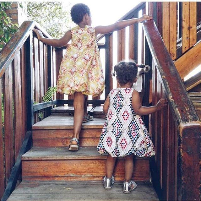 Walking into the week in style with kitenge dresses from @umutima_rwanda ! 📸: @jolitropisme #rwanda #kigali #kigalimomsanddads #kigalikids #eastafrican #eastafrica #thisisafrica #my250 #familytime #mondays #mondaymood #letthembelittle #darlingmoment